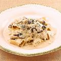 料理メニュー写真パッパルデッレ ボルチーニ茸とキノコのクリームソース