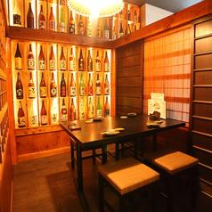圧巻の日本酒!テーブル個室