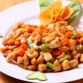 【紫禁城コース】カシューナッツと鶏肉炒め