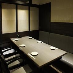 【6名様向け】テーブル席です。プライベートや親しい方とのご利用に!