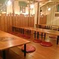 2階席は最大60名様までご宴会可能です!プロジェクターやスピーカーがあるので、お誕生会などのイベントにも最適です♪【居酒屋 大人数 宴会 二次会 コンパ 藤が丘 名古屋めし