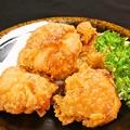 料理メニュー写真鶏ももの唐揚げ(油淋鶏風orおろしポン酢)