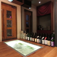 良い日本酒だけを品揃え。料理に合うよう考えて取り揃えております。
