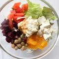 料理メニュー写真【1.】自分好みの具材を選んで、オリジナルのチョップドサラダが作れる!