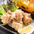 料理メニュー写真地鶏のから揚げ