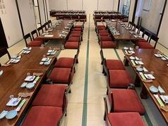 88名宴会可能な大広間もご用意しています。