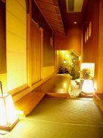 京町家を再現した寛ぎ空間
