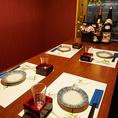 ゆったりとお寛ぎいただける広々とした空間となっております。プライベート空間でゆったりとしたご宴会、パーティーをお楽しみください。しゃぶしゃぶ宴会コースは5000円~各種ご用意しております。