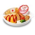 料理メニュー写真おこさまオムライスプレート/おこさまラーメン 各種