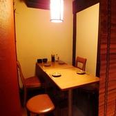4名様用テーブル席もございます☆会社帰りに仕事仲間と一杯・友人同士でちょい飲みやお食事などのプライベート使いでも、お気軽にご利用頂けますので、是非ご利用ください☆ご来店お待ちしております!