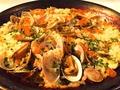 料理メニュー写真豪華!イクラとアサリのボンゴレパエリア