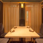 テーブルタイプ4名席。落ち着いた雰囲気★