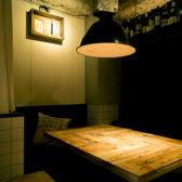 ソファー個室空間は、ダウンライトの明かりで落ち着いた空間となっております。宴会・女子会にもオススメのお席です♪