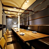 【個室】12名様~20名様までご利用可能です!温かみのある個室の広めのお席。美味しいお料理と美味しいお酒を楽しみながら素敵なお時間をお過ごしください。
