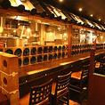 カウンター席は全10席ご用意しております!!おひとり様や少人数でお楽しみいただけます。~水炊き・焼鳥 とりいちず 池袋東口店~☆