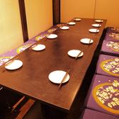 最大宴会100名様までOK!!宴会・飲み会に是非ご利用下さい♪全席完全個室!(2名、4名、6名、8名、20名、40名、50名、100名様でも必ず個室)