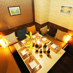お客様だけのプライベートな空間を実現してくれる完全個室は、秋葉原での各種宴会に最適です。