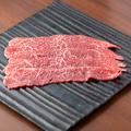 料理メニュー写真和牛巻き肉焼きしゃぶカルビ