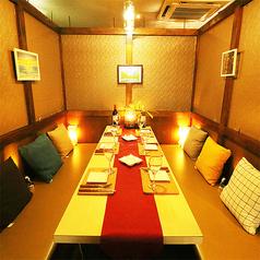 10~30名様用の宴会個室も完備しております。ご要望に応じて最適な個室席へご案内させていただきます。