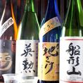 京都産のお酒も時期に合わせて取り揃えております。
