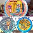 とにかく多趣味なシェフ。イタリア絵皿製作まで。イメージが湧いたら描かずには入られません。