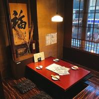 飯田橋にあるこだわり個室席☆最高のお時間をご堪能☆