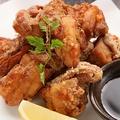 料理メニュー写真大粒!鶏の唐揚げ 普通