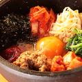 料理メニュー写真鉄焼!!肉みそビビンバ