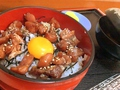 料理メニュー写真鉄火丼ぶり(赤出し付) Tekkadon