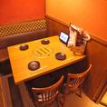 大人数でもご安心してご利用いただける開放的なテーブル席も、居酒屋 甘太郎 大宮東口店では多数ご用意しております。大宮での宴会・飲み会の際はお気軽にお問い合わせください。