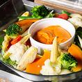 彩り豊かに盛り付け!野菜をたっぷり採れる食事を目指して♪