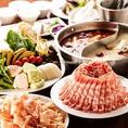 こだわりぬいた厳選食材◎ラム肉の脂肪は人体に吸収されにくいことはご存知でしょうか。人間の体温は37℃前後ですが、ラム肉の脂肪の融点は44℃。体内で脂肪が溶け出しづらいため、吸収されずに排出されてしまうのです。さらにラム肉には体の免疫力を高めて消化を助け、胃の壁を保護する働きがあると言います。