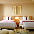ご宴会後にホテルでのんびり寛ぐのも◎。宿泊予約もお電話にて承っております。