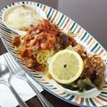 料理メニュー写真トマトスパセット