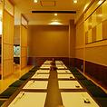 お座敷席では最大20名様での宴会が行えます。