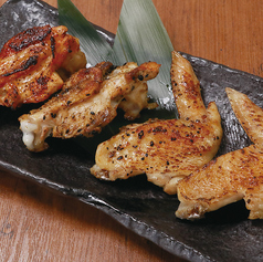 鶏手羽焼四種盛り