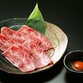 料理メニュー写真カルビ/ハラミ/ロース