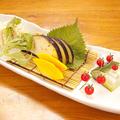 料理メニュー写真水茄子のお刺身