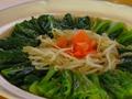 料理メニュー写真小松菜のゴマ汁浸し