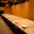 宴会向けの個室として14名様・30名様・60名様の掘りごたつ個室もご用意しております。