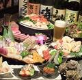 料理メニュー写真各種コースは2000円台からご用意!