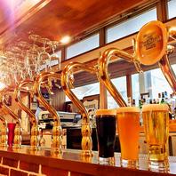 クラフトビールは全国から空輸しています♪