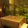 蓮政寺公園のライトアップされた夜景を見ながら頂く、絶品の創作イタリアン・フレンチ料理とお酒をご堪能ください