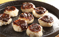 料理メニュー写真有機八丁味噌使用 五平餅