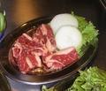 料理メニュー写真カルビ定食