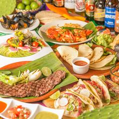 メキシカンバル エルカラコルのコース写真