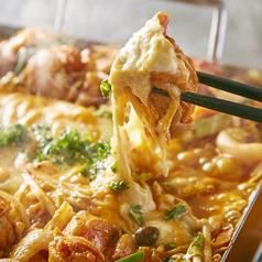 料理メニュー写真大流行!チーズタッカルビ