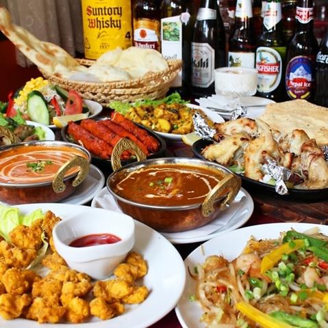 外食でも健康を考えたい方にピッタリ◎ヘルシーなアジアン料理をお楽しみください!