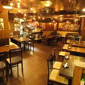 最大50名様まで宴会が出来るお席を取りそろえ、広々とした空間なので様々な宴会シーンに最適!