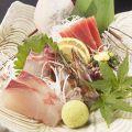 料理メニュー写真鮮魚刺し身 三点盛り/五点盛り
